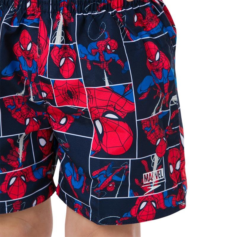 Speedo Marvel Spiderman Watershorts Navy/Lava Red/Neon Blue