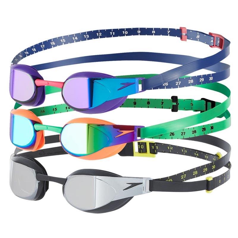 Speedo Fastskin Elite Mirror Goggles - Pack of 3