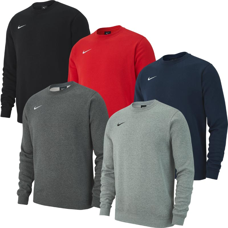Nike Team Club 19 Junior Crew Sweatshirt