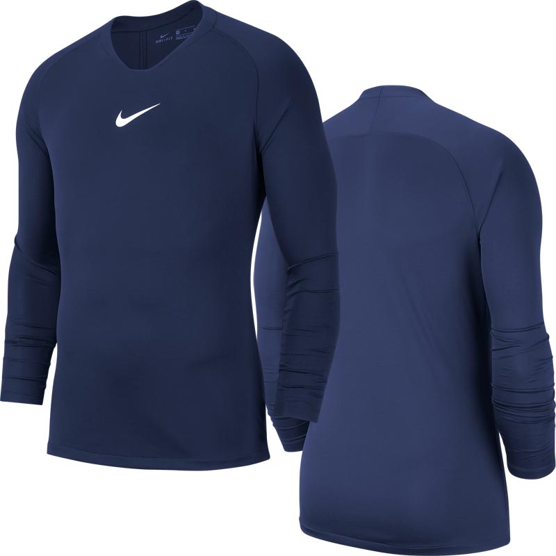 Nike Park First Layer Senior Top Obsidian