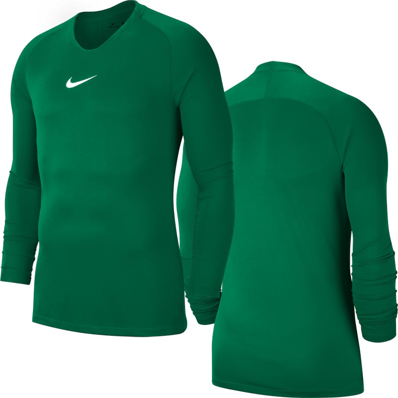 Nike Park First Layer Junior Top Pine Green