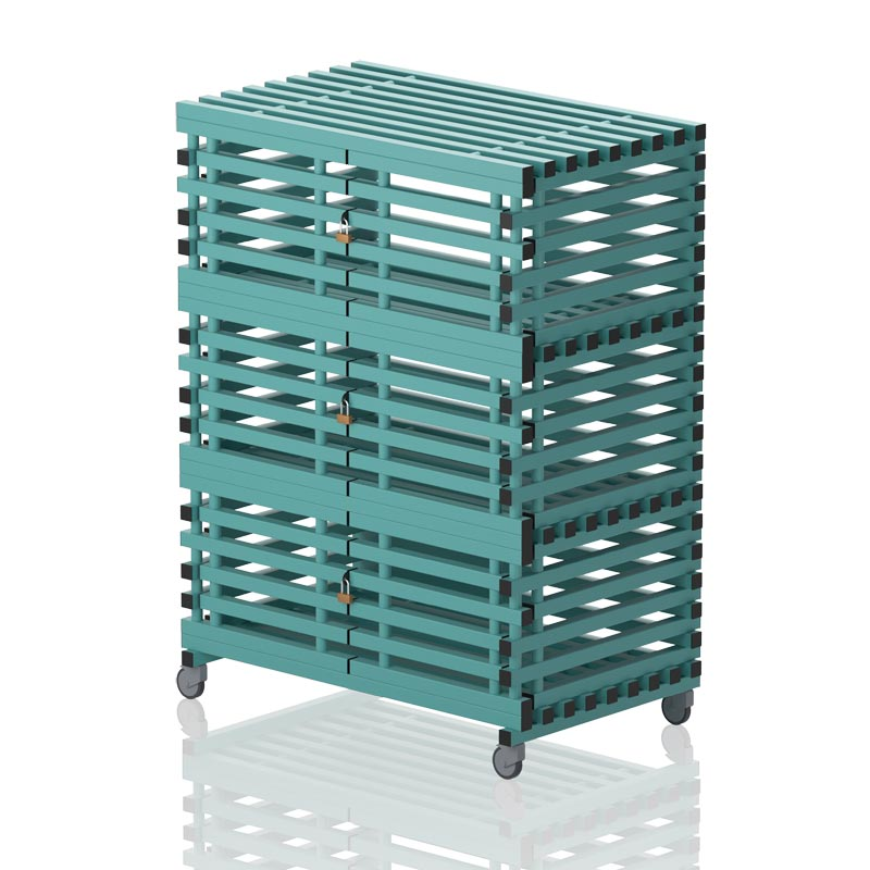 Vendiplas Cabinet Without Top Rack With Locks