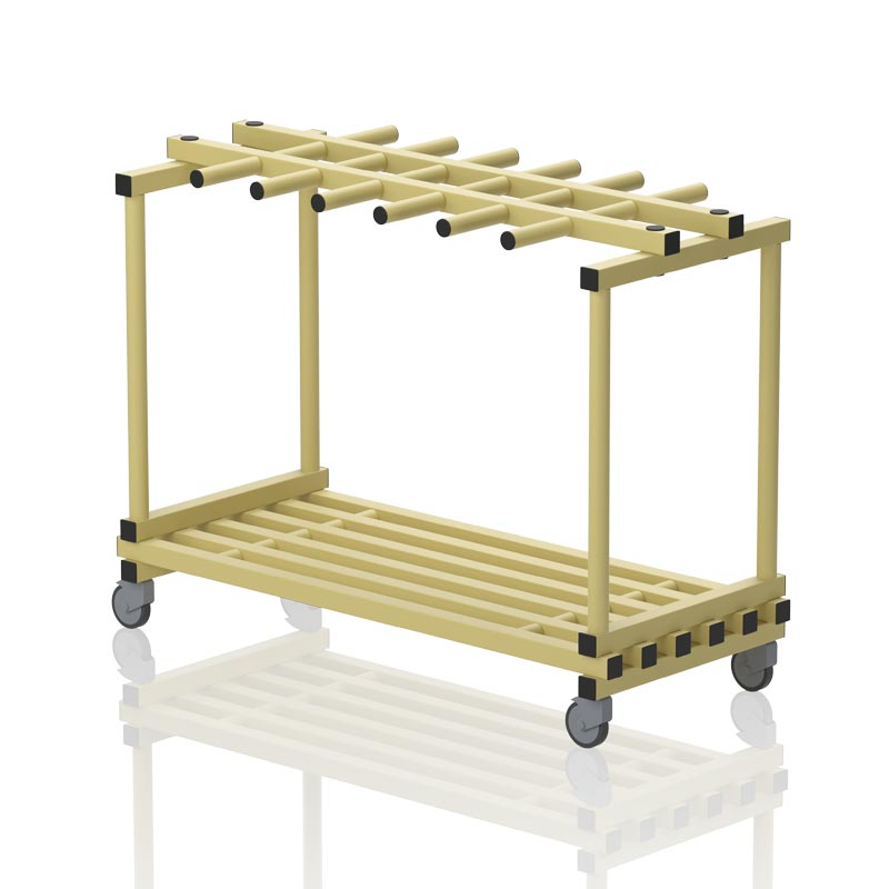 Vendiplas Mobile Platform With Hangers