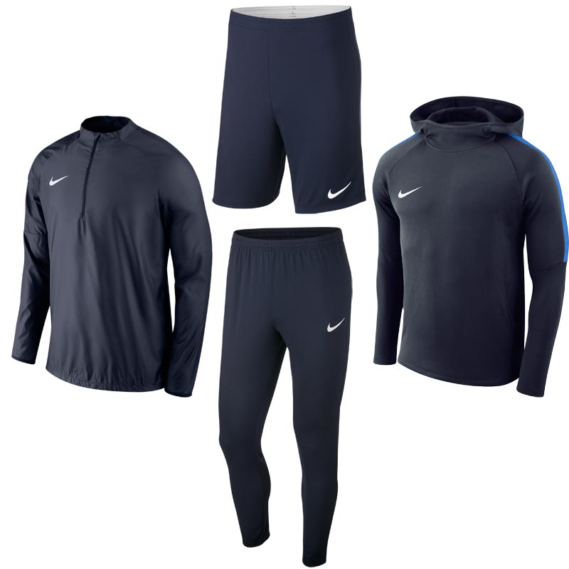 Nike Academy 18 Training Pack Obsidian/Obsidian