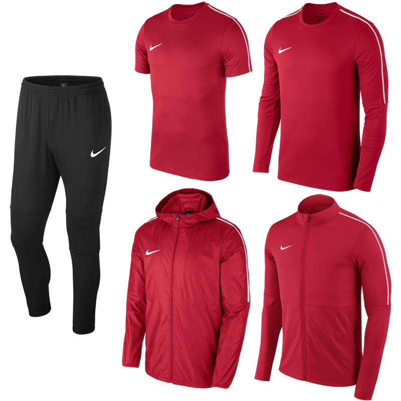 Nike Park 18 Bulk Pack University Red/Black