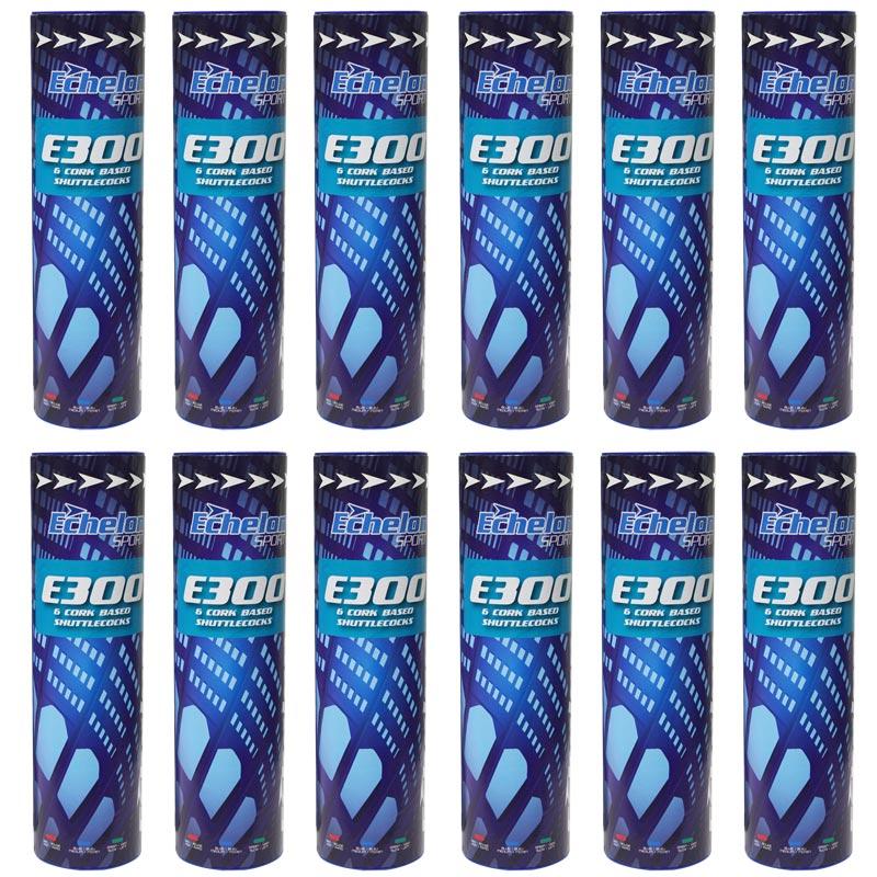 Echelon E300 Badminton Shuttlecocks 144 Pack