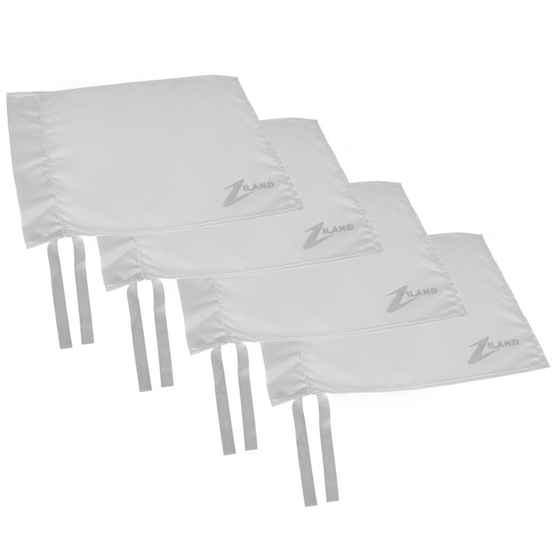 Ziland Corner Flag 4 Pack White