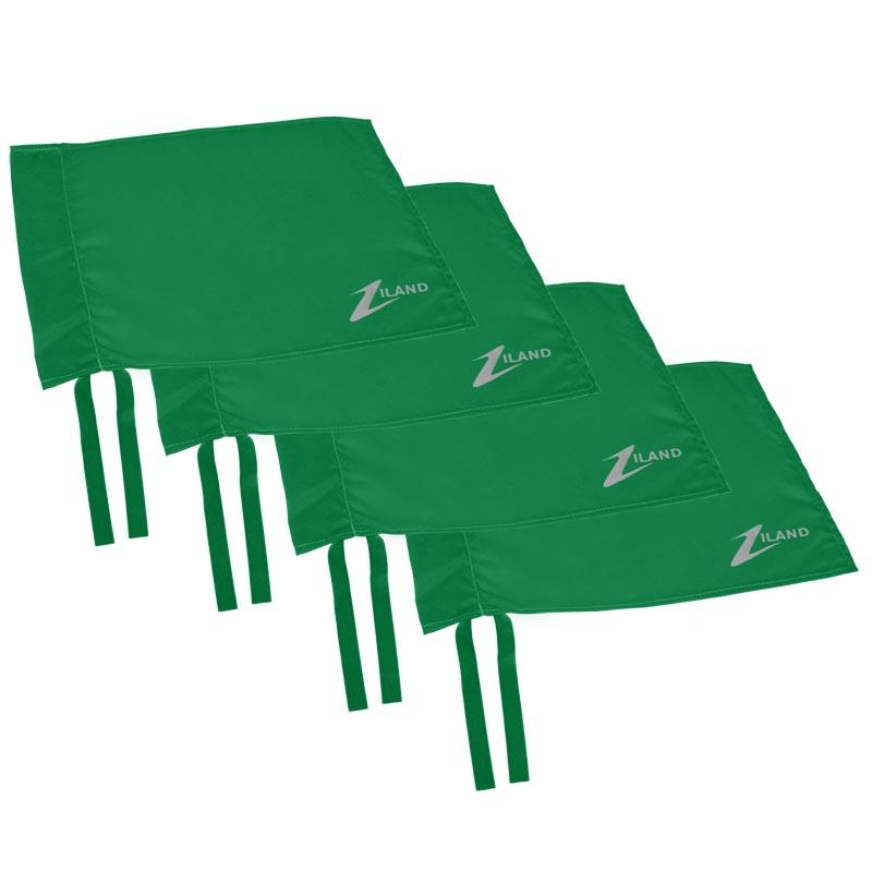 Ziland Corner Flag 4 Pack Green