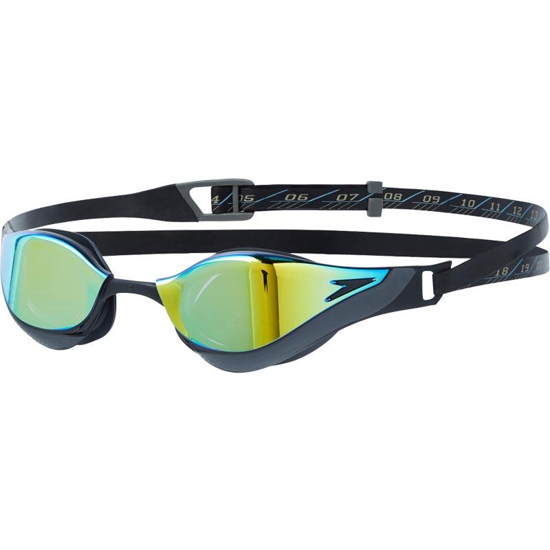 Speedo Fastskin Pure Focus Mirror Goggles Black/Gold