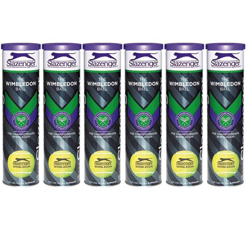 Slazenger Wimbledon Ultra Vis Tennis Balls