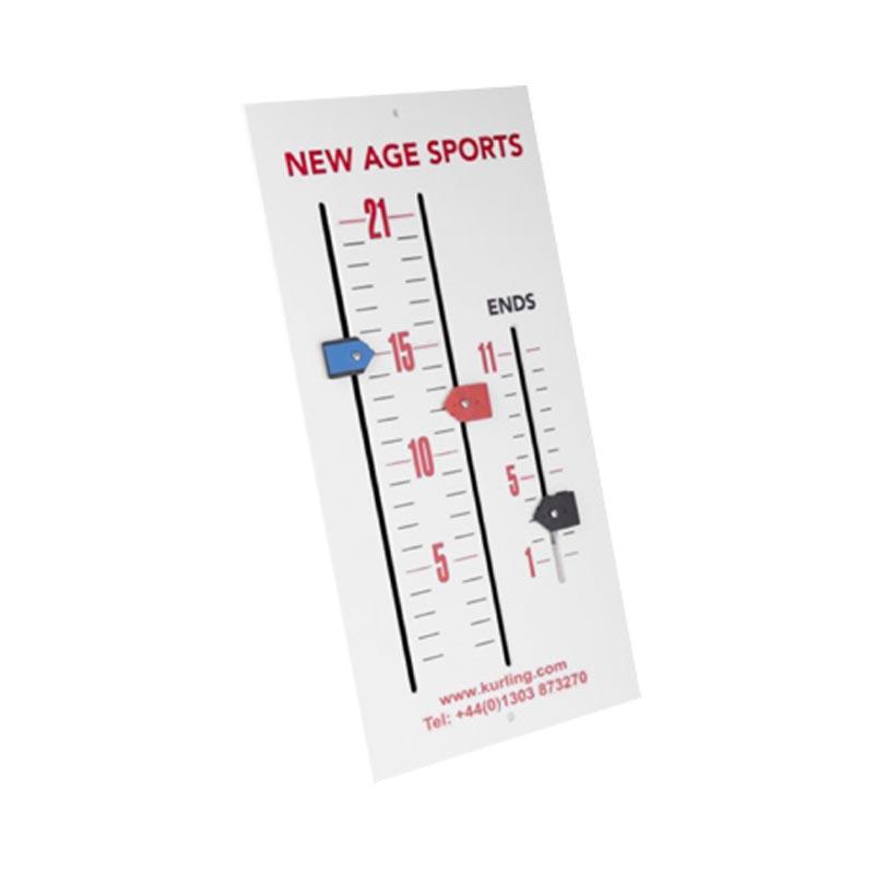 New Age Kurling Scoreboard