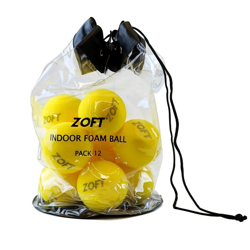 Zoft Indoor Foam Ball 12 Pack