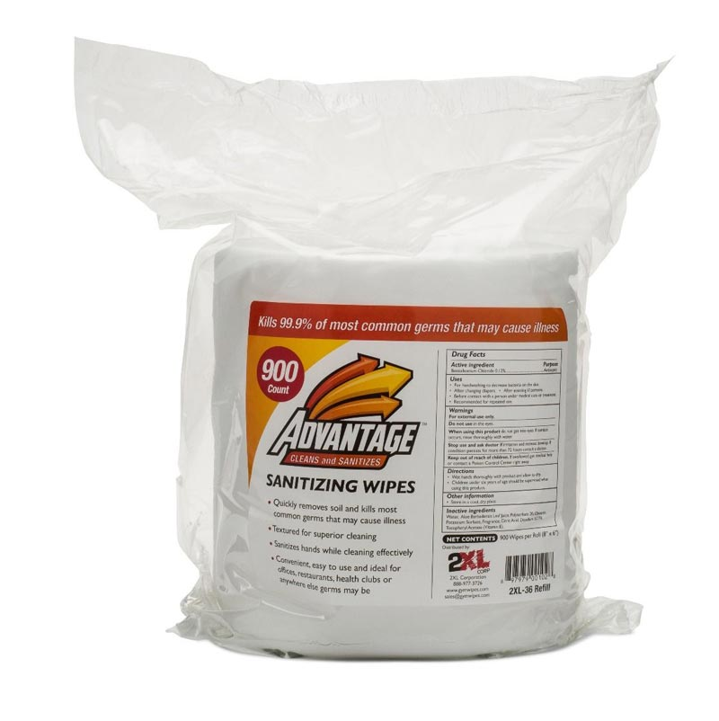 Gym Wipes Advantage Refill Pack