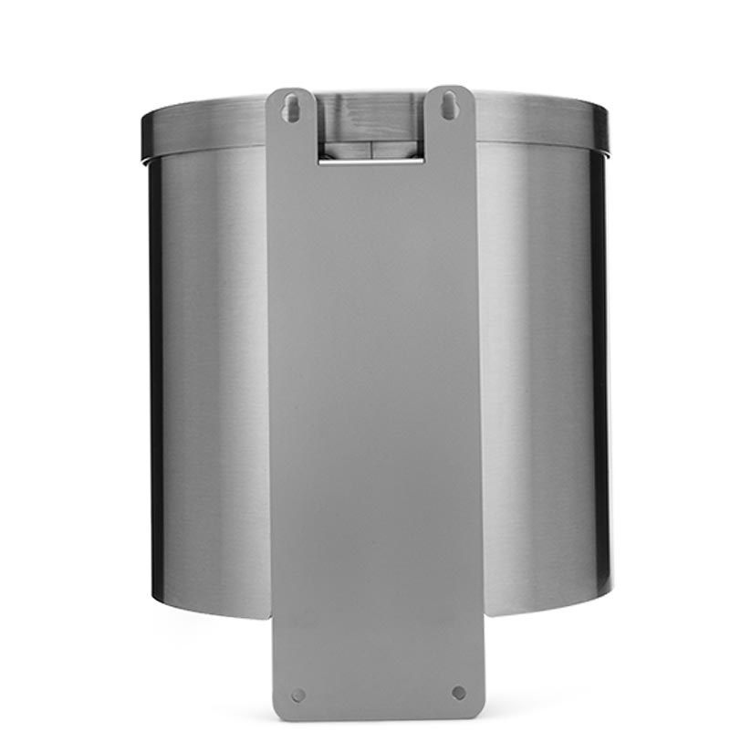 Gym Wipes Luxury Stainless Steel Wall Dispenser