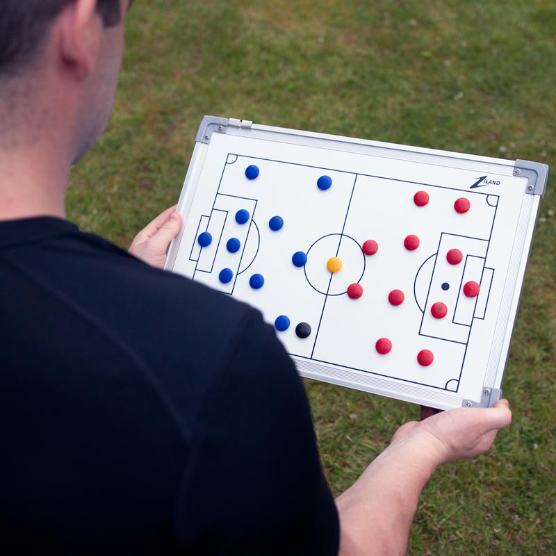 Ziland Football Magnetic Coaching Board 45cm x 30cm