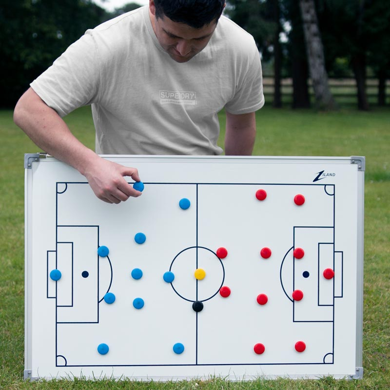 Ziland Football Magnetic Coaching Board 90cm x 60cm