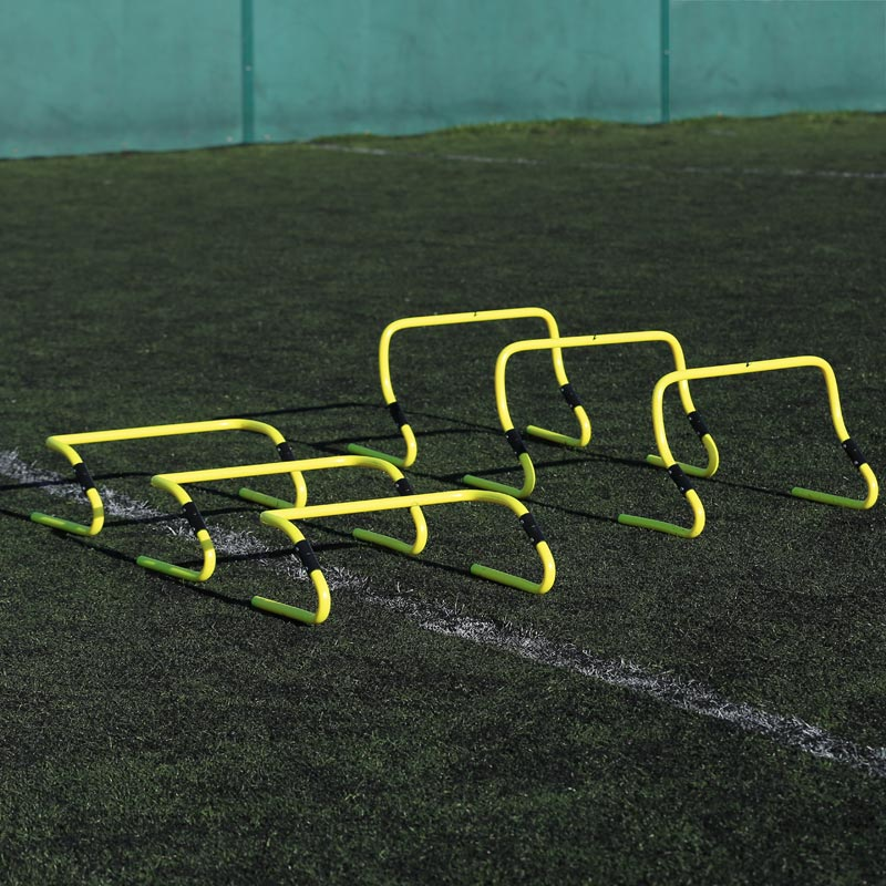 Ziland Speed Agility Adjustable Hurdle 6 Pack
