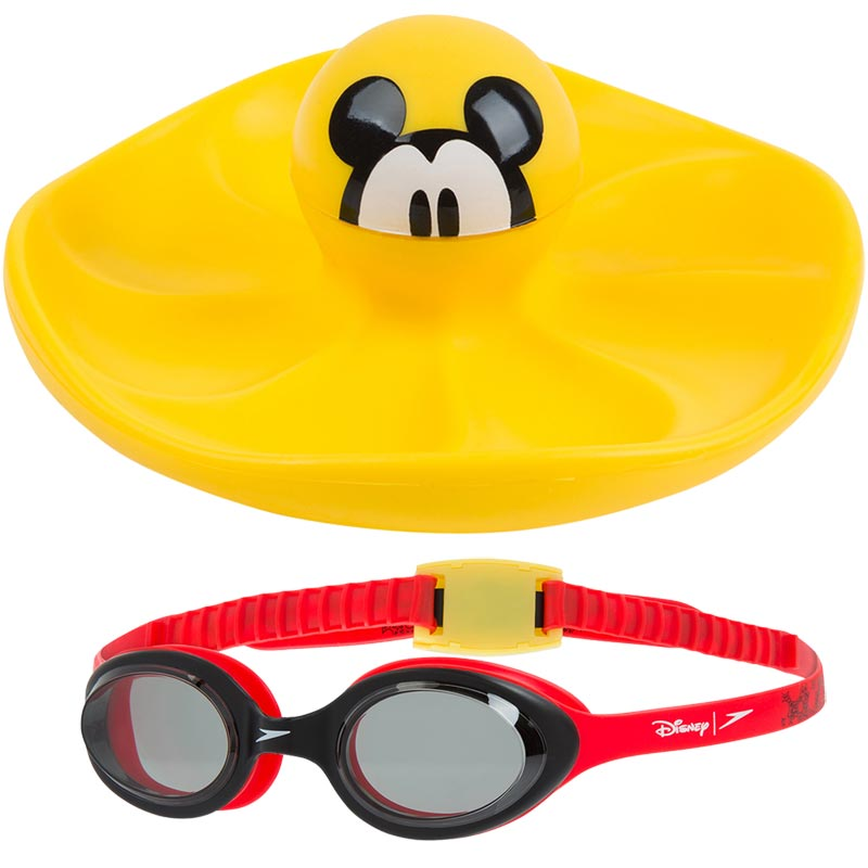 Speedo Mickey Mouse Sink Toy and Goggles Set
