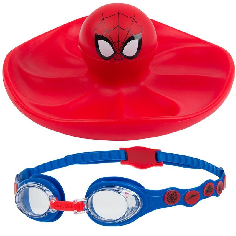 Speedo Spiderman Sink Toy and Goggles Set