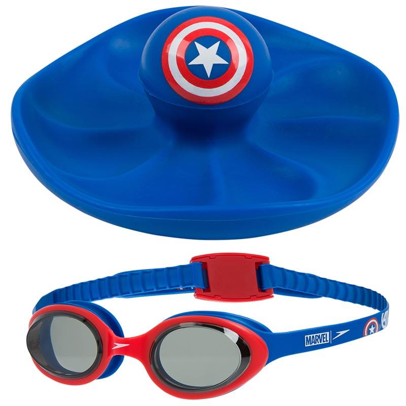 Speedo Marvel Sink Toy and Goggles Set