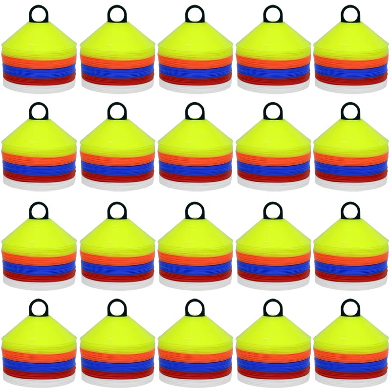Ziland Sports Marker Cone 1000 Set