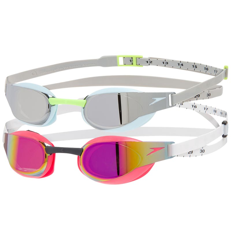 Speedo Fastskin Elite Mirror Goggles - Pack of 2