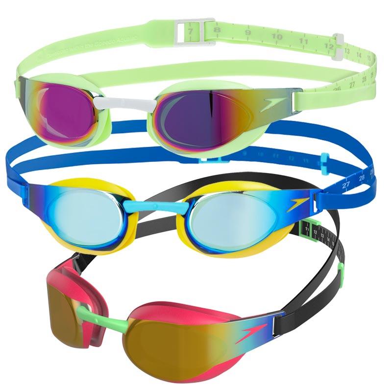 Speedo Junior Fastskin Elite Mirror Swimming Goggles