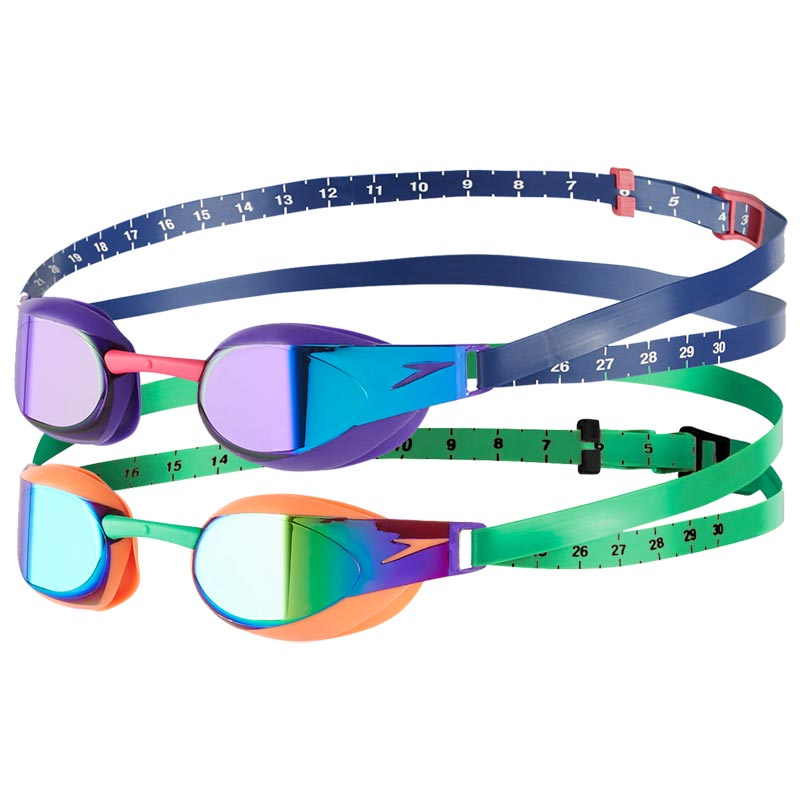 Speedo Fastskin Elite Mirror Goggles 2 Pack