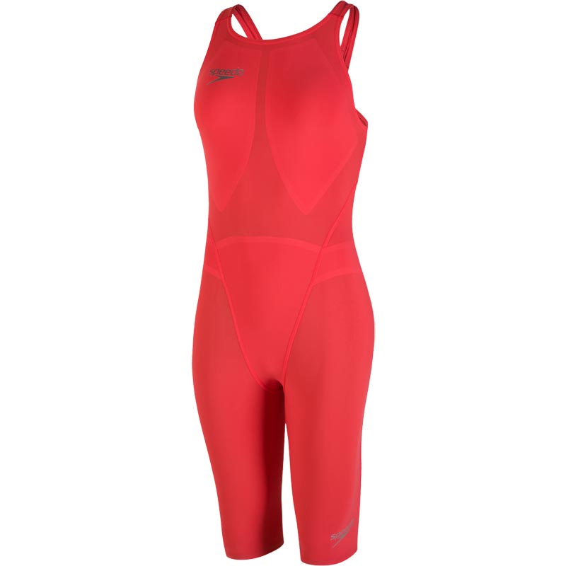 Speedo Fastskin LZR Racer Element Kneeskin Lava Red/Silver