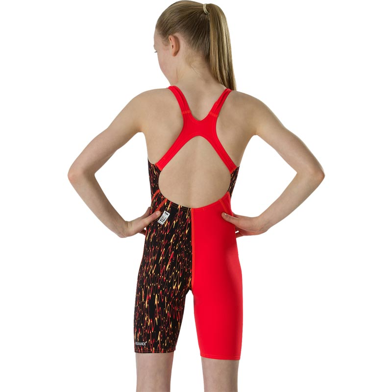 Speedo Fastskin Endurance Plus Kneeskin Black/Lava Red/Papaya Punch
