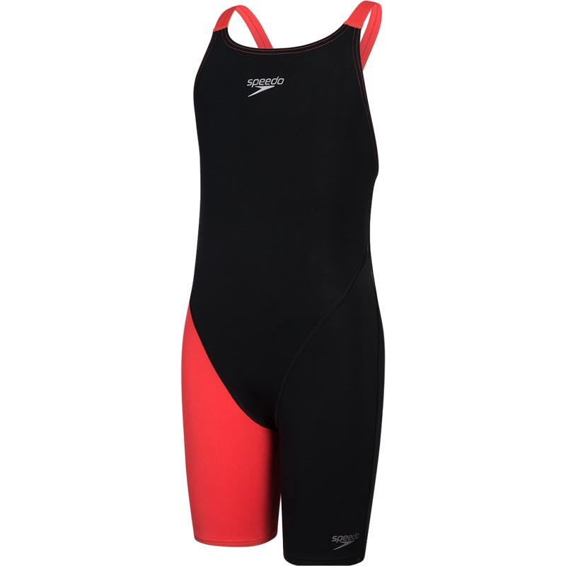 Speedo Fastskin Endurance Plus Kneeskin Black/Lava Red