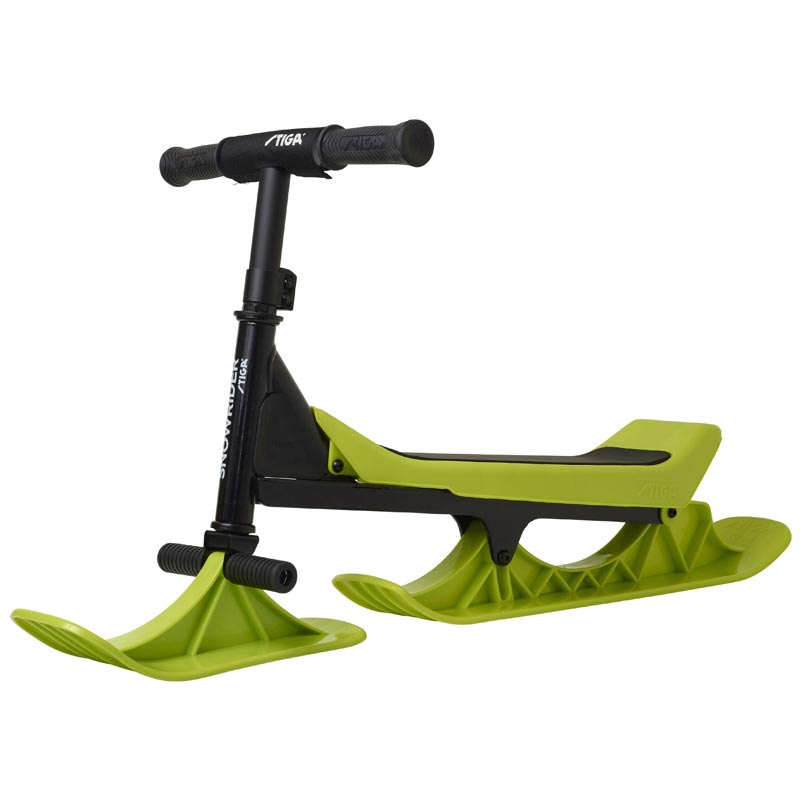 Stiga Snowrider Steering Sledge Black/Lime