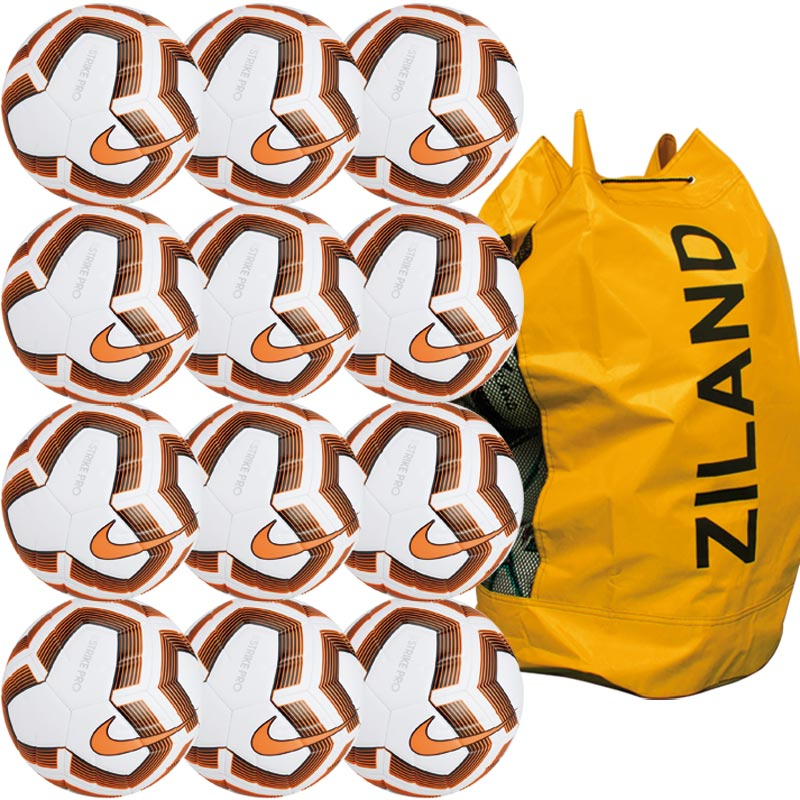 Nike Strike Pro Team Match Football Orange 12 Pack