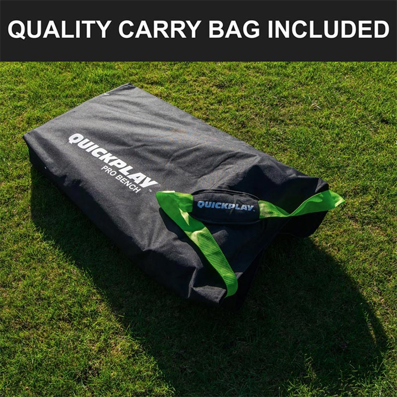 Quickplay PRO Folding Bench Shelter