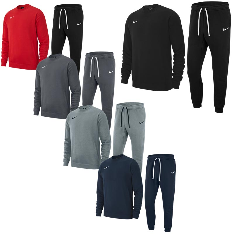 Nike Team Club 19 Junior Crew Tracksuit