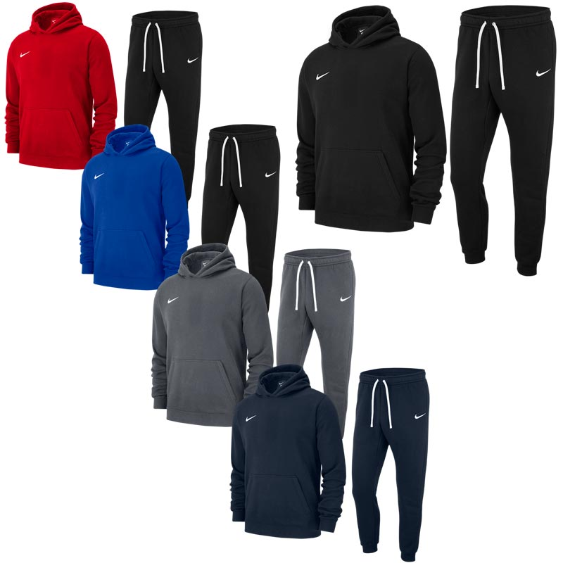 Nike Team Club 19 Junior Hoodie Tracksuit