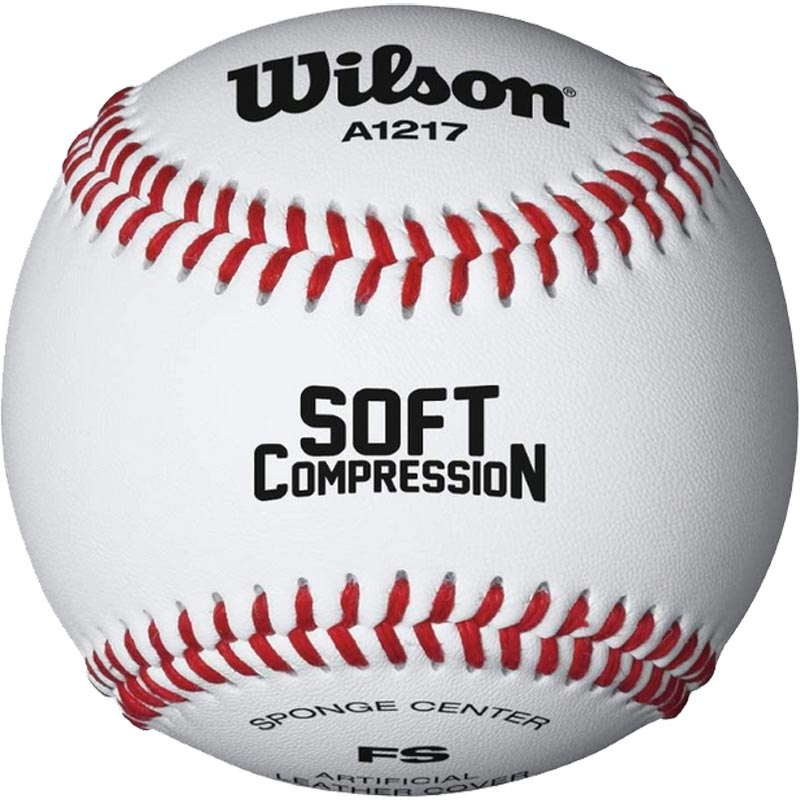 Wilson A1217 Soft Compression Baseball