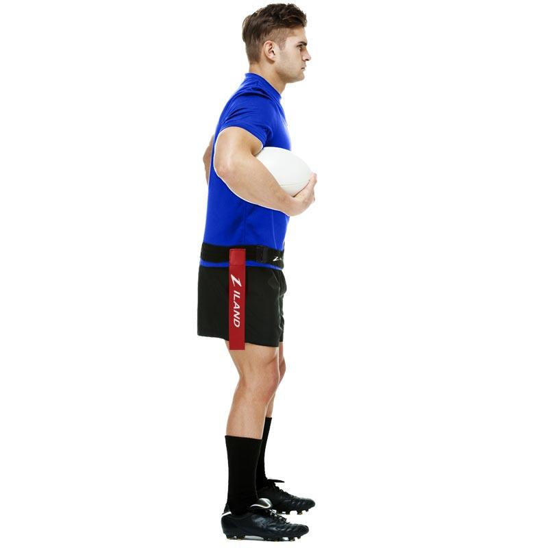 Ziland Adjustable Tag Rugby Belt 60 Pack