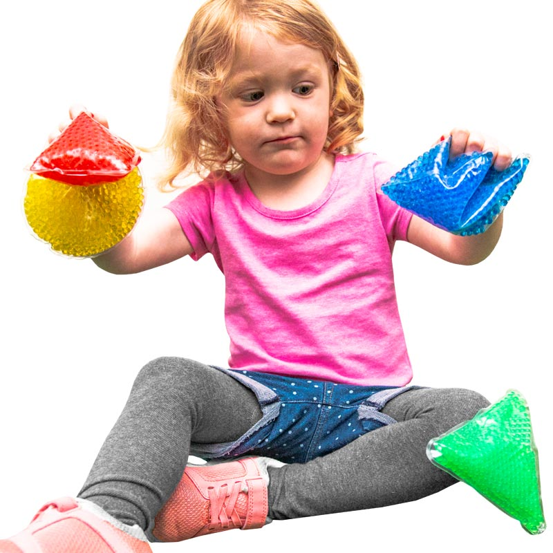First Play Sensory Shape Beanbags