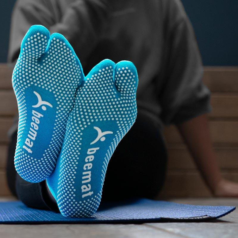Beemat Anti Slip Yoga Grip Socks