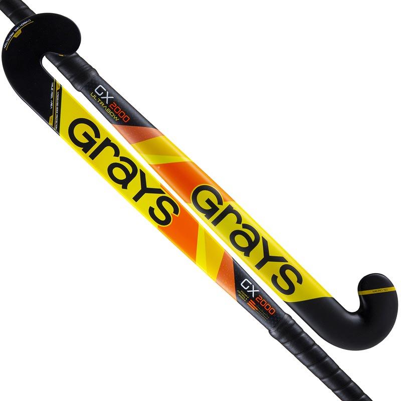 Grays GX2000 Ultrabow Hockey Stick Yellow