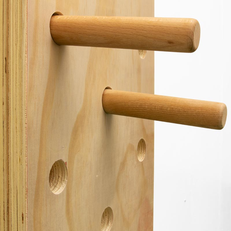 Apollo Climbing Peg Board