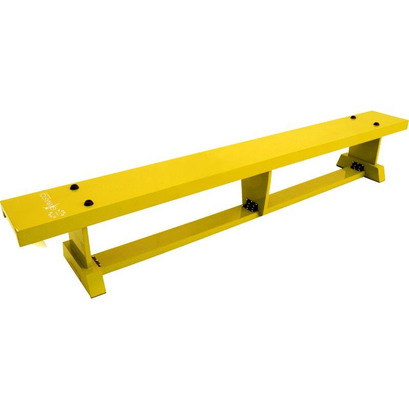 Sure Shot Coloured Lite Balance Bench Yellow