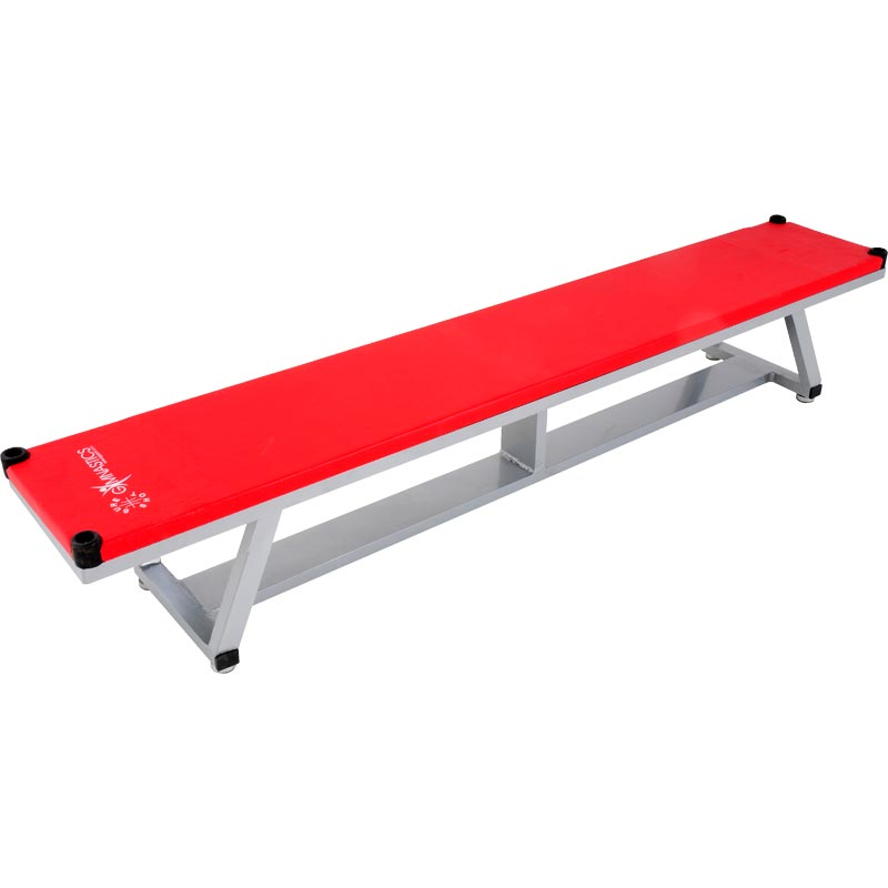 Sure Shot Coloured Alloy Balance Bench Red