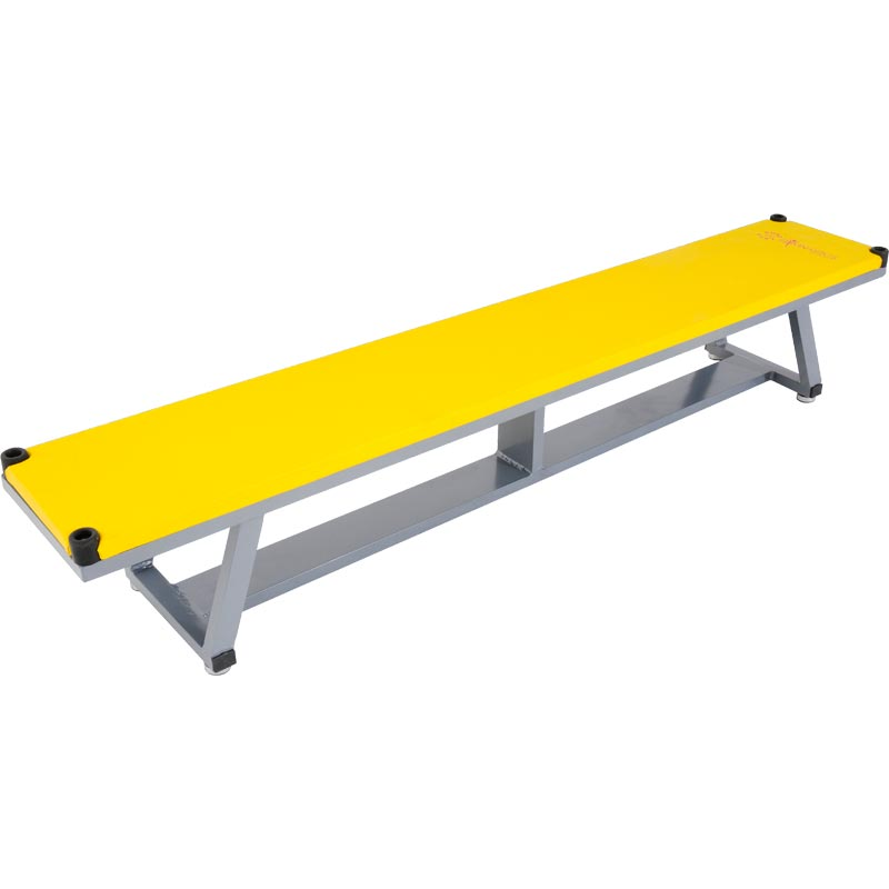 Sure Shot Coloured Alloy Balance Bench Yellow
