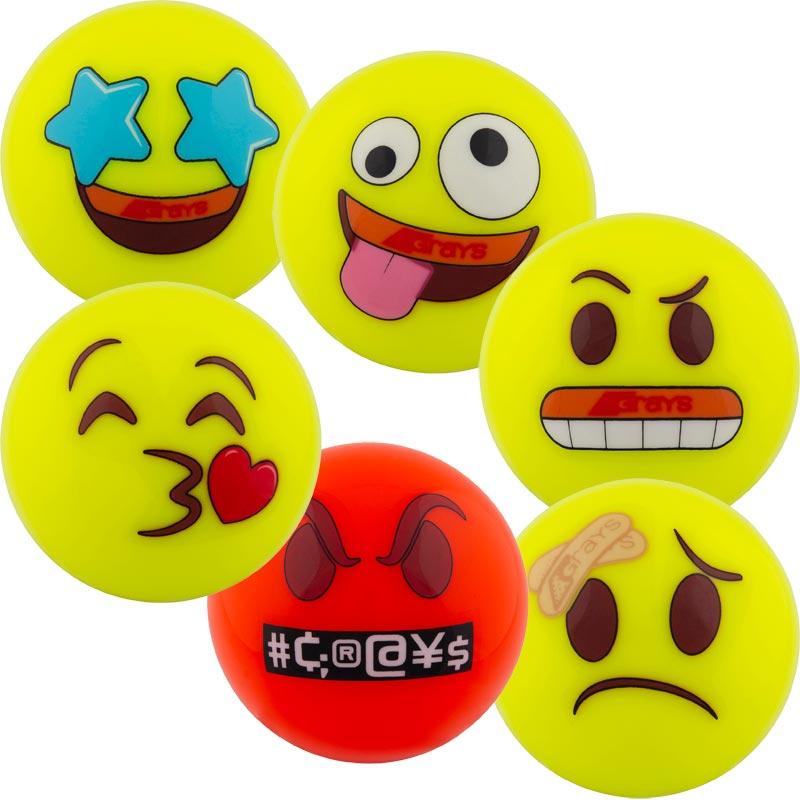 Grays Emoji Hockey Ball 6 Pack