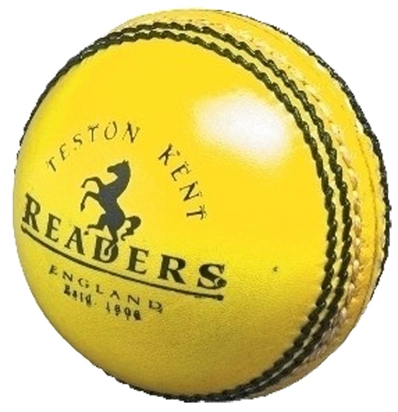Readers Indoor Leather Cricket Ball