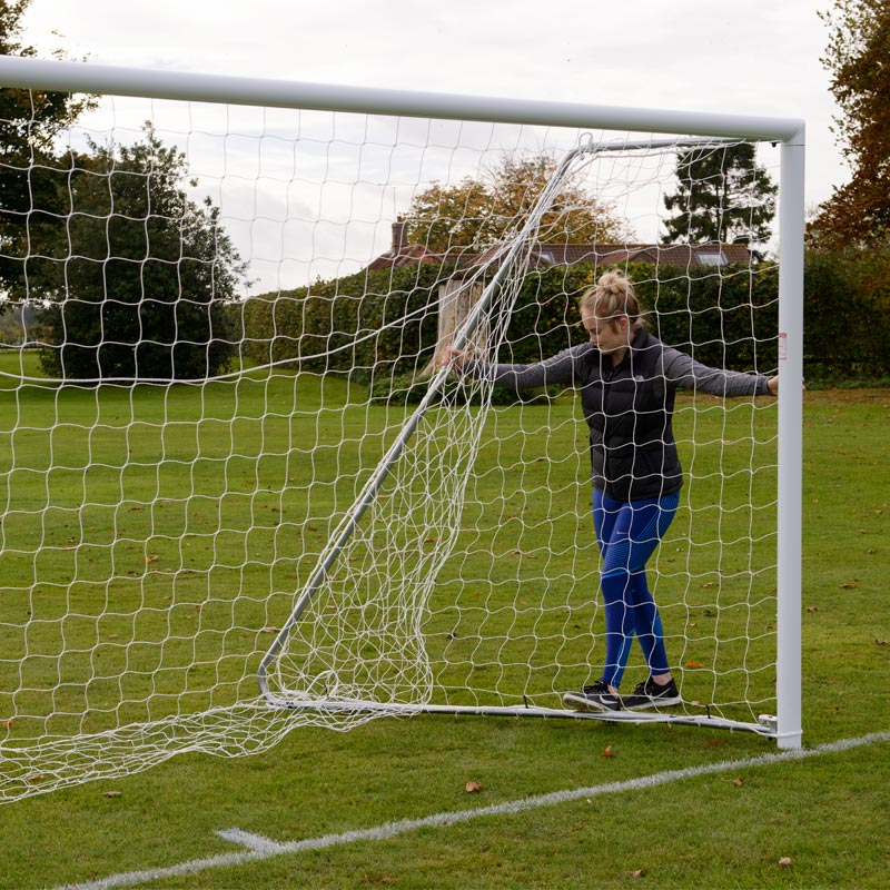 Harrod Sport 16ft x 7ft Lightweight Aluminium Football Goal