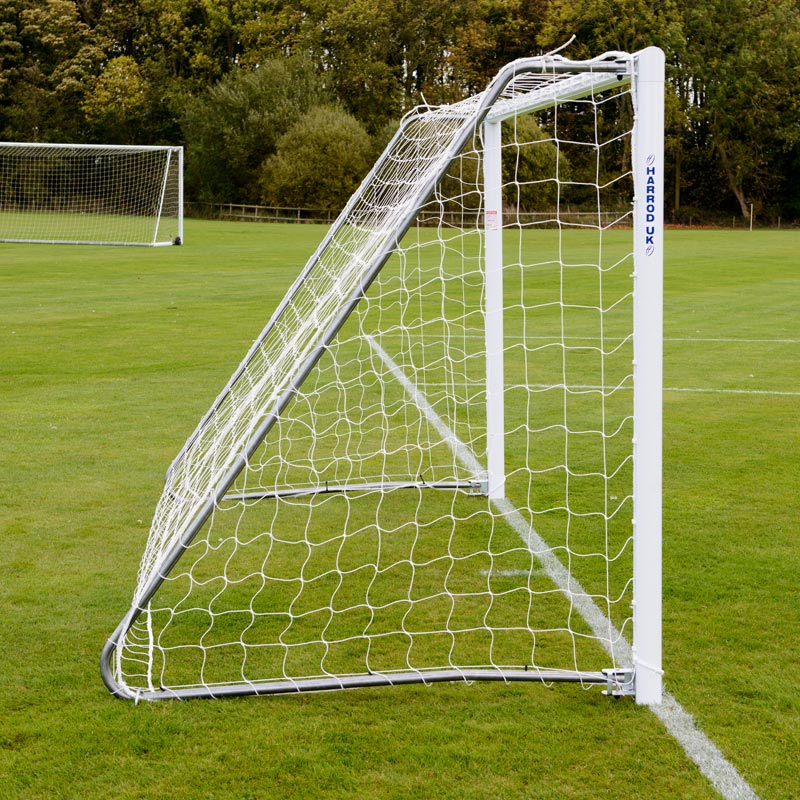 Harrod Sport Lightweight Aluminium Goals and Nets 12ft x 6ft