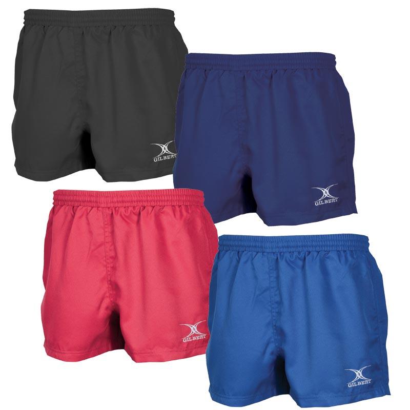 New Various Sizes Navy Gilbert Women/'s Saracen Match Rugby Shorts Black